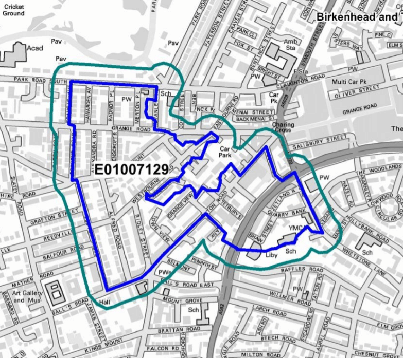 Selective Landlord Licencing Area in Birkenhead South